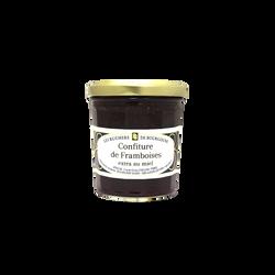 Confiture de framboises au miel RUCHERS DE BOURGOGNE, 375g