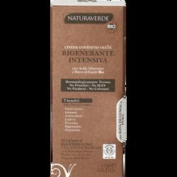 Crème bio yeux régénérante anti-cernes intensive yeux NATURAVERDE 10%de sérum d'escargot pur à l'acide hyaluronique et au beurre de karité