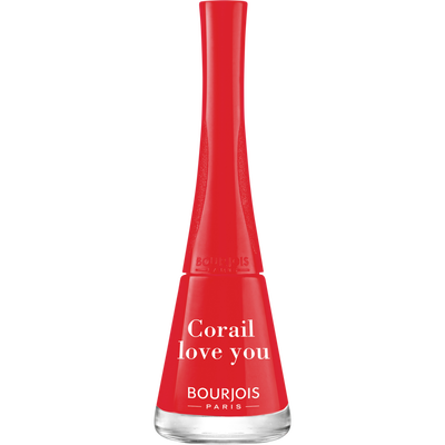 Vernis à ongles vernis 1 seconde 30 corail love you BOURJOIS, nu