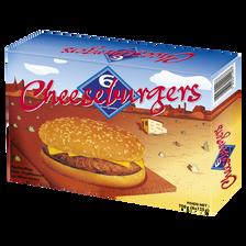 Cheeseburgers, 6x125g