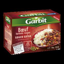 Boeuf haricots rouges sauce salsa GARBIT, kit complet de 700g
