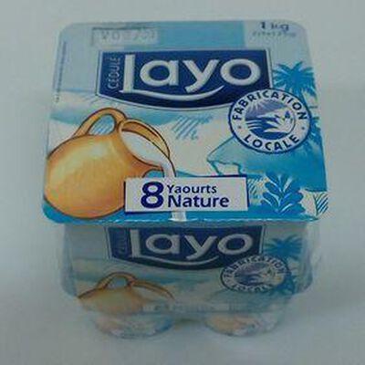 LAYO NATURE 8X125G
