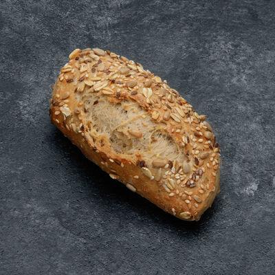 Petit pain pavé aux céréales, 6 pièces, 300g