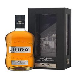 Single Malt Scotch Whisky JURA 21 Years 70cl 44%vol