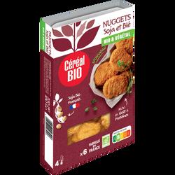 Nuggets de soja & blé CEREAL BIO FRAIS 180g