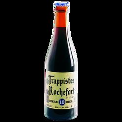 Bière belge brune ROCHEFORT 10 11,3°, bouteille de 33cl