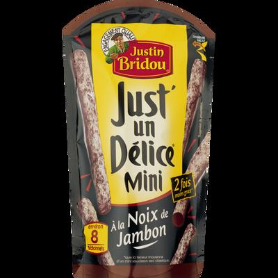 Mini Just'un Délice Noix de jambon JUSTIN BRIDOU, 80G