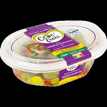Croc' frais Olives Dénoyautées À La Méditerranéenne, Croc Frais, Barquette 200g