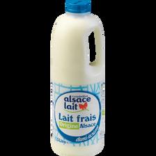 Lait frais demi écrémé ALSACE LAIT, 1.5l