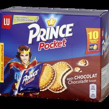 Biscuits fourrés chocolat PRINCE Pocket, 400g