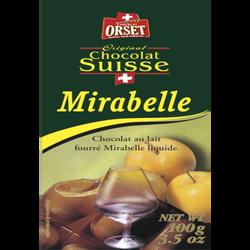Tablette mirabelle liquide ORSET, 100g