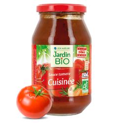 Sauce tomate cuisinée JARDIN BIO 510g