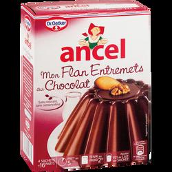 Préparation pour entremet saveur chocolat ANCEL, x4, 232g