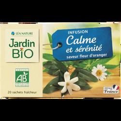 Infusion calme et sérénité bio JARDIN BIO 30g