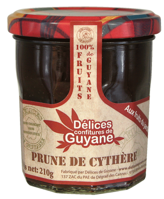 CONFITURE PRUNE CYTHER 210G
