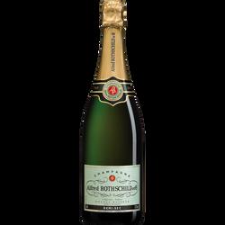 Champagne demi-sec ALFRED ROTHSCHILD et Cie, 75cl