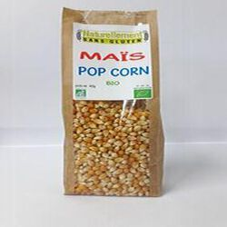 Maïs Pop Corn Bio NATURELLEMENT SANS GLUTEN 400g