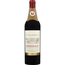 Vin rouge AOC Bordeaux La Pierre Peyssard U, 75cl