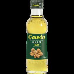 Huile de noix CAUVIN, bouteille de 25cl