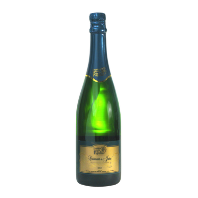 Crémant du Jura blanc brut FRUITIERE VINICOLE DE PUPILLIN, bouteille de 0.75l
