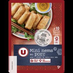 Mini nem au porc x10 + sauce nuoc mam U, 220g