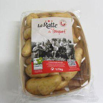 Pomme de terre Ratte de consommation à chair ferme 1 KG - France - cat 1 - cal 20/120 -
