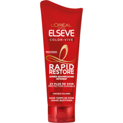 Après-shampooing rapid restor color vive ELSEVE, 180ml