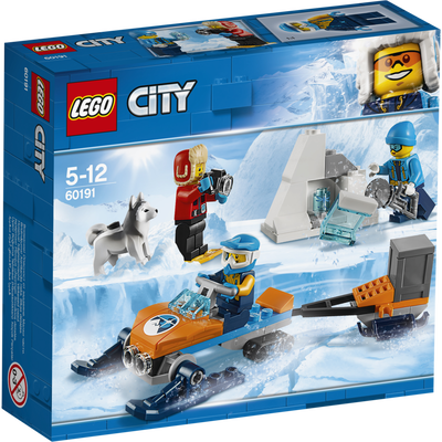 Les explorateurs de l'arctique  LEGO City
