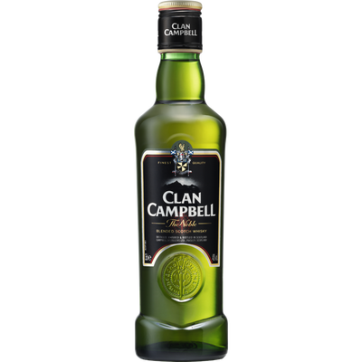 Scotch whisky CLAN CAMPBELL, 40°, 35cl