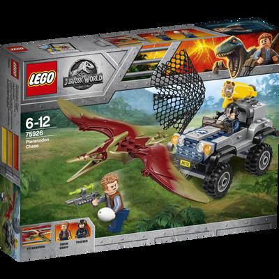 La course poursuite du pteranodon LEGO Jurassic World