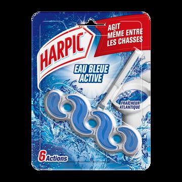 Harpic Bloc Cuvette Active Fresh Eau Bleue Fraîcheur Intense Harpic