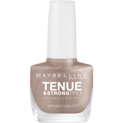 """Vernis à ongles """"Tenue et strong"""" n°19 brun immuable - blister MAYBELLINE"""
