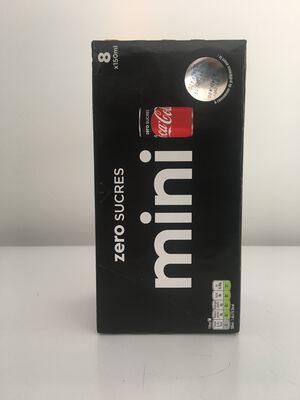 COCA-COLA Zero minican 8x15cl