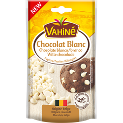 Pépites de chocolat blanc VAHINE, 100g