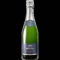 Vin blanc AOP Vouvray brut Philippe DEVAL, 75cl
