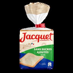 Maxi Jac pain de mie nature sans sucres ajoutés JACQUET, 550g