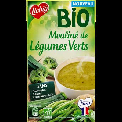 Soupe mouliné de légumes verts bio LIEBIG, 1litre