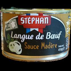 Langue de boeuf sauce madère STEPHAN, boîte 1/2, 410g