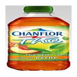 Boisson au thé vert à la pêche CHANFLOR, bouteille de 50cl