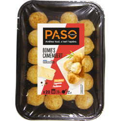 Apéro bomb's camembert PASO, 260g