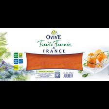 Ovive Truite Fumée De France , 8 Tranches, 225g