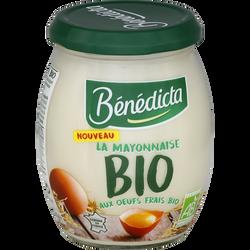 Mayonnaise bio BENEDICTA, bocal de 260g