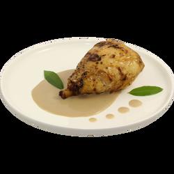 Chapon sauce au foie gras, 220g