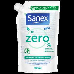 Gel douche biodégradable peaux normales SANEX recharge 500ml