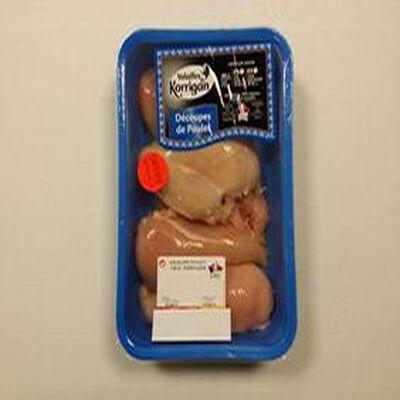 Escalopes de poulet Volailles de korrigan 720g