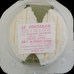 Le Fontadam au lait thermisé vache et chèvre LAVERGNE, 23% de MG, 180g