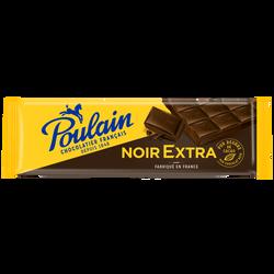Chocolat noir extra POULAIN, 400g