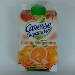 CARESSE GUYANAISE ORANGE GINGEMBRE 50CL