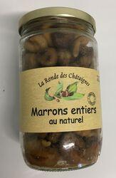 Marrons entiers au naturel Sopreg bocal 420g