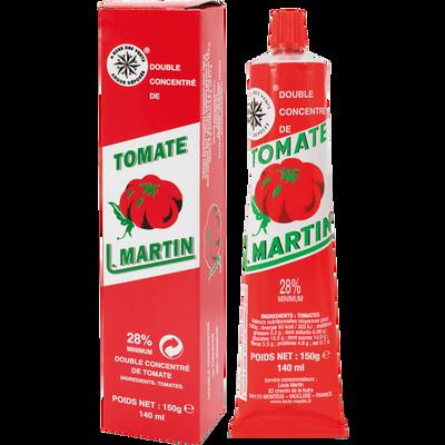 Double concentré de tomate LOUIS MARTIN, 150g